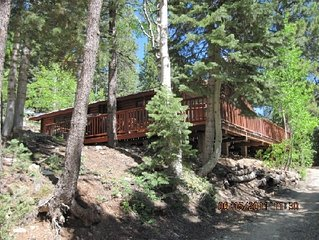 Book Now For SUMMER! Stay cool  in a Beautiful Mountain  Log Cabin!