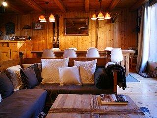 Courchevel: Appartement de charme dans un chalet à 5min à pied des remontées