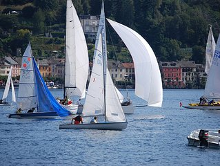 LAKE ORTA elegant apartment, historical center, max relax,  50 mt  from the lake
