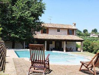Villa Casa Vacanze Montegiove Fano (Pesaro Urbino) Piscina 10 persone
