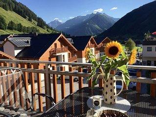 Luxuriose 3 - Schlafzimmer Ferienwohnung mit grandiosem Ausblick auf Hohe Tauern