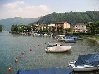 Haus am See mit  Bootsanleger und Motorboot (seperate Miete)