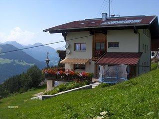 Familienfreundliches Ferienhaus in Panoramalage der Ski-u.Wanderregion Zillertal