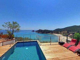 Capo di Stelle, magnifique villa, dominant la baie de FAUTEA 5 chambres avec sdb