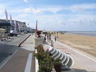 A CHATELAILLON plage et mer sur place,tennis et l'ete piscine gratuits