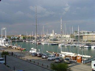 Appartement 41 m2, avec GARAGE, vue sur le port, quartier aquarium, proche gare.