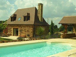 Charmante maison de campagne en Périgord Noir  classée 4 étoiles