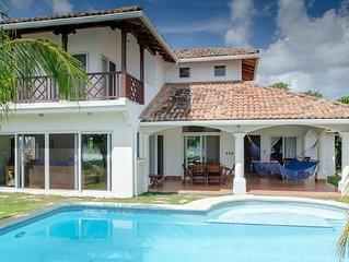 Beachfront Villa with Infinity Pool at Colorados Surf Break in Hacienda Iguana!