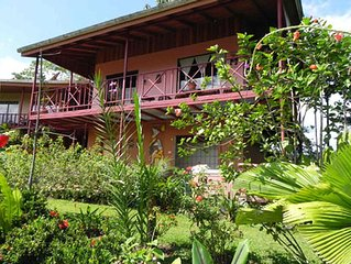 Hummingbird Nest, private 3 bedroom home on Lake Arenal and the Arenal Volcano