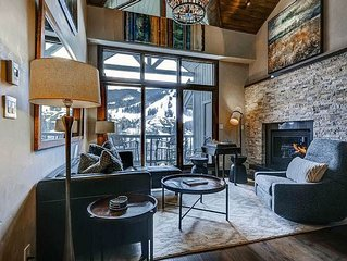 Platinum Rated Penthouse, Ski In/Out Straight-on Views of Beaver Creek Mountain