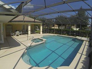 Executive Villa,  Private S./facing Pool w/spa. Disney World, Universal ++more