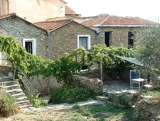 A Charming Old Ligurian Farmhouse In The Hills Only 20 Minutes From The Sea