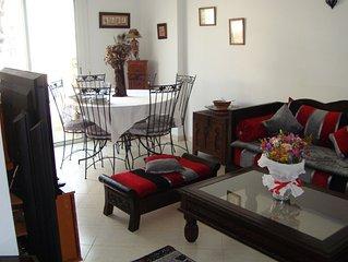 Appartement 4 personnes, a Rabat, tout confort, vue / ocean, proximite tramway