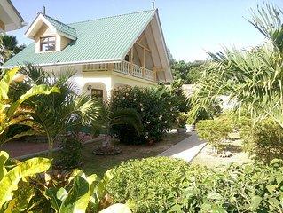 VILLA PAYANKE (Chalets Anse Reunion) - 2 à 4 personnes - proche de la plage