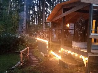 Charming Romantic Creek Front Cabin At Mt Rainier