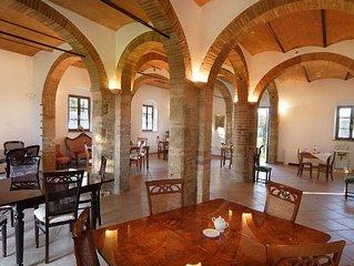 Villa / Farmhouse / Home in Poggibonsi with 2 bedrooms sleeps 6
