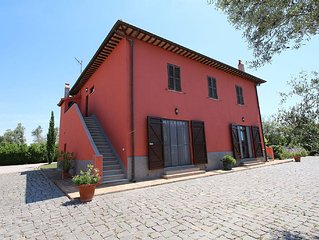 Spacious Farmhouse in Montalto di Castro with Shared Pool