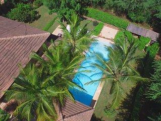 Villa de standing pour 8 personnes avec piscine privée dans le golf.