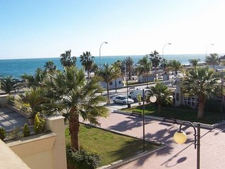 Apartment on Burriana Beach, Nerja, Costa del Sol, Spain