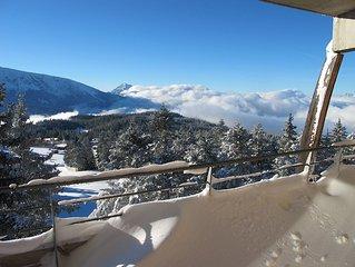 AU 5 ième et DERNIER ETAGE SUD Confortable 6 places et grande terrasse couverte