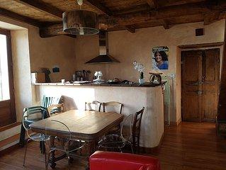 Maison typiquement Corse entre  mer et montagne
