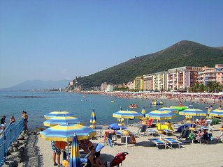 Authentic Ligurian House  50 meters from the sea,starting from € 57.00 per night