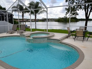 Paradise! Luxury Lakefront Pool/Hot Tub Home  *Last Minute Specials AVAILABLE*