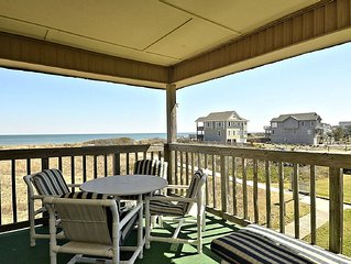 Oceanfront - Let the Sound of the Ocean Lull You to Sleep-Perfect OBX Experience