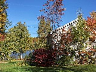 Beautiful Maine Lake House - Western Mountains, Sugarloaf Area