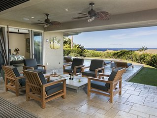 3BR/3.5 BR Waiulaula Villa Mauna Kea Salt Water Pool/Spa Spectacular Ocean Views
