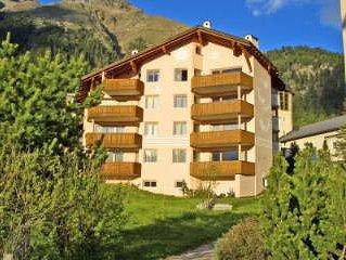 Ferienwohnung Pontresina für 3 - 5 Personen mit 2 Schlafzimmern - Ferienwohnung