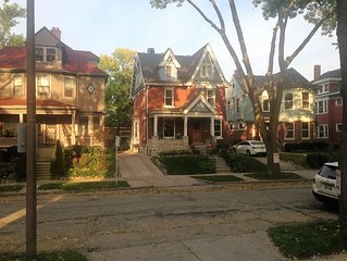 Beautiful 1903 Victorian -close to UWM, Lake Park, Downtown, Vibrant Downer Ave.