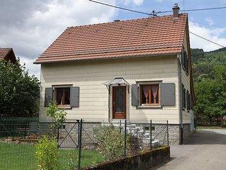 Maison a Metzeral independante pour 8 a 10 personnes, dans la vallee de Munster