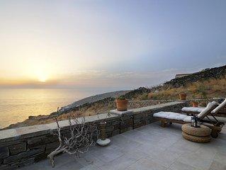 Villa moderne, luxueuse, emplacement tranquille, plage privée, service 24/7