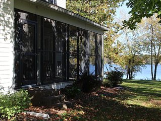 New Listing! - Lakefront Home - 3 BR 2 BA - 1 hour N of Twin Cities