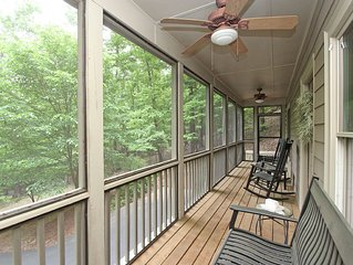 EXTRA LOW RATES FOR 2-12 MO. RENTAL OF BEAUTIFUL MOUNTAIN HOME IN BIG CANOE.