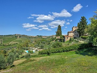 Apartment in Panzano In Chianti with 2 bedrooms sleeps 4