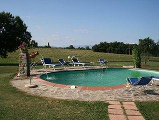 Villa in Vitiano with 5 bedrooms sleeps 12