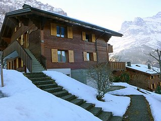 Ferienwohnung Chalet Sunneblick  in Grindelwald, Berner Oberland - 2 Personen, 1