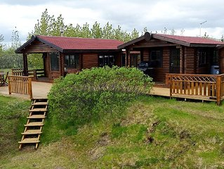 Very cozy cottage for 5 persons in south Iceland, great view to Eyjafjallajökull