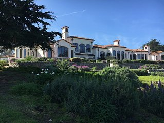 Spanish Villa overlooking Cyrpress Point, Pebble Beach