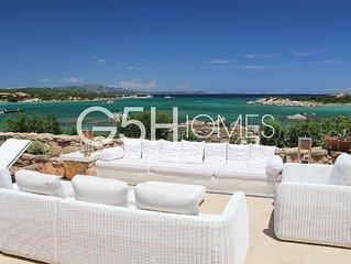 Porto Rotondo, Sardinia, villa by the sea, exclusive independent superior