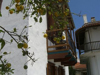 Beautiful house in Skopelos old town with harbour views