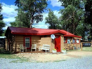 Ask about Eclipse Week Rate on Historic Tiehack Cabin & Tinhouse could sleep 6+
