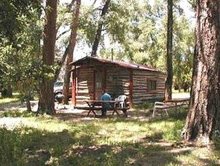 Creekside Woodland Brook Historic Cabin Summer Song Cabin 9,