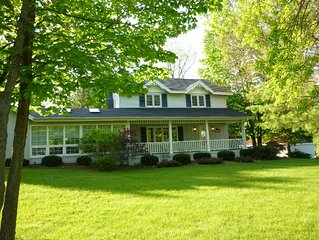 Spacious, comfortable home just steps from downtown Saugatuck