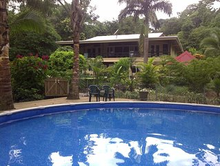 Swimming Pool! Next To Pristine Bluff Beach And The Rainforest