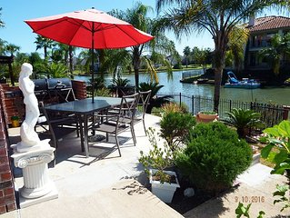 Sydney Harbour Lakefront living Cypress Texas