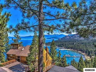 Spectacular view of Lake Tahoe from 4bdrm Retreat!