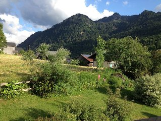 Chalet with stunning views in the Valley D'Abondance